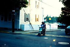 Night Out (Brandon Tavares) Tags: love photoshop nikon couple scooter rhodeisland vision nikkor infinite d3100 35mm18gafs