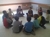 """Al mawasy - Children listening to one of the project youth activists • <a style=""""font-size:0.8em;"""" href=""""http://www.flickr.com/photos/73632013@N00/7432833874/"""" target=""""_blank"""">View on Flickr</a>"""