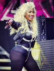 Pictures and Video Nicki Minaj BBC Radio 1 Hackney Weekend
