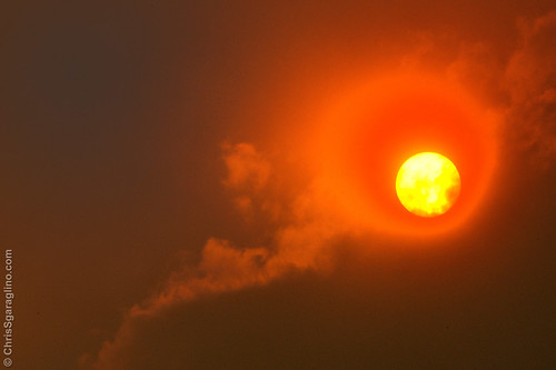 Blood Sun - Waldo Canyon Fire