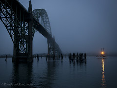 Coming in with the haul (Dave Arnold Photo) Tags: ocean bridge sea usa weather fog clouds oregon bay coast us photo seaside fisherman waves pacific northwest image head or arnold foggy picture pic photograph newport baybridge pacificnorthwest oregoncoast ore trawler seacoast yaquina fishingtrawler yaquinabay davearnold centraloregoncoast yaqina davearnoldphotocom mygearandme coastalhead