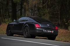 Bentley Continental Supersports (ODMotors) Tags: black continental bentley w12 biturbo supersports