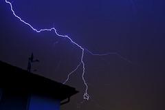 Thunderstorm in the night (Sascha Bentz) Tags: lighting 2 night canon germany eos nightshot bright nacht mark hell ii sascha 5d thunderstorm lightning blitz gewitter thunder rheinland rhineland pfalz 2012 donner palatinate bentz