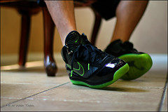 IMG_2401 (Never Wear Them) Tags: man black max green electric james you air 7 nike wear what did today vii 3m dunk lbj lebron wdywt dunkman