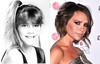 Victoria Adams (Posh Spice) AKA Victoria Beckham before famous as 12 year old in child modelling agency Pic:WENN