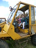 Zahra and Jack collaborate on driving the fork-lift