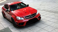 C 63 ///AMG Black Series (J.B Photography) Tags: auto red black car race speed germany photography benz power stuttgart c performance 63 exotic series jb luxury supercar v8 sportscar amg liter 2012 carspotting aerokit hypercar worldcars