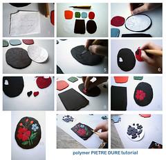 polymer pietre dure tutorial (AleksandraMicic) Tags: handmade jewelry images fimo primo photographs howto sculpey tutorial pardo polymer pietredure biolin beolin micicart aleksandramicic