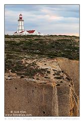 Sesimbra - Espichel Cape Lighthouse / Farol do Cabo Espichel (Jose Elias / StockPhotosArt.com) Tags: ocean cliff lighthouse portugal coast cabo europe do european cliffs atlantic cape farol portuguese atlanticocean sesimbra caboespichel espichel espichelcape lighthousetrek faroldocaboespichel