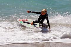 Aliso Beach, CA. Skimboarding (piersurfing) Tags: surfing alisobeach exileskimboards victoriaskimboards victoriaskimboard exileskimboard alisobeachca