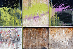 (jaysonphoto) Tags: wood abstract colors oregon portland paint pdx constructionsite nwportland