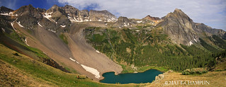 Lower Blue Lake Panoramic