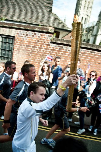 Olympic Torch Relay - Canterbury