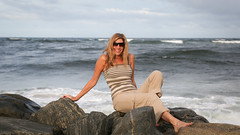 2012-07-22 5DIII Palm Beach Ocean 046 (James Scott S) Tags: ocean portrait usa 3 laura beach glass weather canon scott eos james sand waves florida mark united iii 4 atlantic renee l 5d inlet fl states usm gonzalez dslr ef f4 lightroom wx 24105mm lr4
