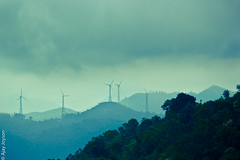 It will Rain (ajayjoyson) Tags: india beautiful rain clouds canon dark nikon silent wind south valley mills stylized turbines kerla attapadi suzlon