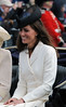Catherine, Duchess of Cambridge aka Kate Middleton attends the Trooping The Colour ceremony in London on June 11, 2011. * Mandatory Credit: Anwar Hussein/WENN.com