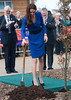 Catherine, Duchess of Cambridge aka Kate Middleton opens The Treehouse Children's Hospice in Ipswich Ipswich, England