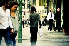 Don't Run Away From Me! (Jonathan Adami) Tags: street berlin girl walking arm sony away nex 18200mm nex5 sel18200