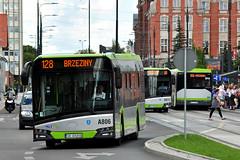 Solaris Urbino 12 #A806 MPK Olsztyn (3x105Na) Tags: solaris urbino 12 a806 mpk olsztyn mpkolsztyn polska polen poland bus autobus