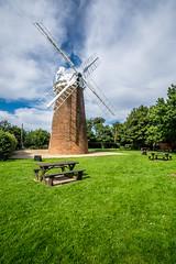 Dereham Windmill (Neal_T) Tags: 12mm clouds derehamwindmill fuji fujifilm norfolk picnic samyang sky ultrawideangle wideangle xt10 dereham windmill norwich uk