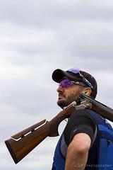 Blue shirt (jasonpeachey901) Tags: man masculine shoot shooting shotgun claypigeonshooting sport sporting sportphotography blue colour vibrance vibrant safety safetyglasses plugs earplugs