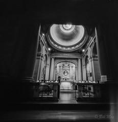 St Ignatius Church, San Francisco (bigbill2006) Tags: pinhole pinholefilm pinholephotography realitysosubtle bw church san francisco film