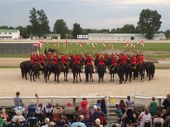 RCMP Royal Canadian Mounted Police (ladybugdiscovery) Tags: rcmp royalcanadianmountedpolice musicalride horses royal canadian mounted police musical ride dresden officers riders red black