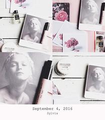 September 4, 2016 (Sylvia Houben) Tags: collage september perfume soap magazine flowers