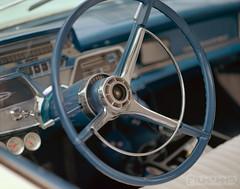 Ship Wheel (FilmAmmo) Tags: paulhargett filmammo salinaks pentax6x7 film mediumformat kodakportra carshow