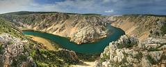 Zrmanja Panorama (hapulcu) Tags: croacie croatia croatie croazia dalmacija dalmatia horvatorszag hrvatska mediterranean zadar zara zrmanja canyon river spring
