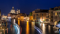 The Grand Canal    Venice, Italy (anoopbrar) Tags: venice venzia italy canals water reflections gandola evening twilight bluehour travel landscape architecture buildings sunset sunrise outdoor longexposure picturesque city explore landscapephotography night dusk travelphotography beautiful europe art artistic caf grandcanal