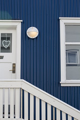 2016-08-19_00005 (Chris Utrecht) Tags: ijsland blue white wit blauw door window deur raam hart hartje stairs trap