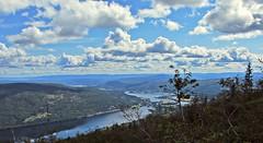 view (kadege59) Tags: norway norden norwegen nordiclandscapes norge nordeuropa landscape landschaft nature natur europe europa wow wonderfulnature clouds sky skandinavien scandinavia river