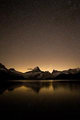 IMG_4299 (Nelus Photography) Tags: star reflection night lightpolution alps switzerland bachalpsee grindelwald bern alpen mountains berge mountain
