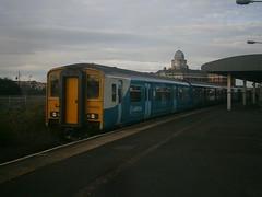 150252 @ Barry Docks (ianjpoole) Tags: arriva trains wales 143605 150252 working 2y07 hereford barry island