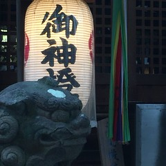 (eyawlk60) Tags:      komainu jinja shrine neyagawashi