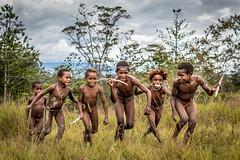 The Dani's Kids (tehhanlin) Tags: indonesia wamena westpapua irianjaya jayapura nusantara thedanis sukudani tribe humaninterest portrait lembahbaliem baliemvalley lembahbaliemfestival baliemvalleyfestival sony a7r2 a7rm2 ngc