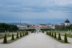 Vienna Schnbrunn Park (micebook) Tags: vienna austria ruins buildings sky green trees landscape city centre tourism landmarks