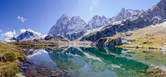 E' questo il paradiso? (Davide Parigi) Tags: montagna panorama photomerge