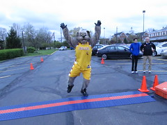 WINNER (Moondog Mascot) Tags: 100k moondog cavaliers beechbrook 04222012 fleetfeetsports5k