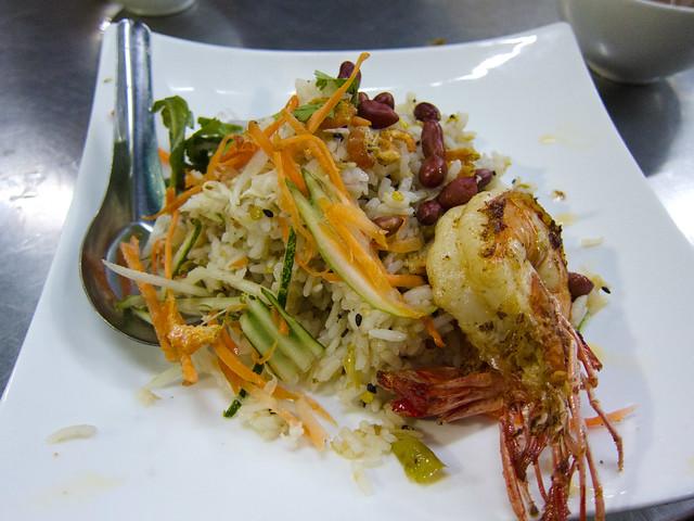 Rakhine Tamin Thoke (Rice Salad)