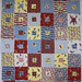 Sock Monkey quilt blocks for Siblings Together
