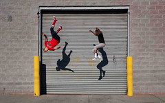 Jose and Dimitri: Hunts Point Bronx (Chris Arnade) Tags: new york city nyc newyorkcity bronx jose parkour huntspoint chrisarnade josetheamazing