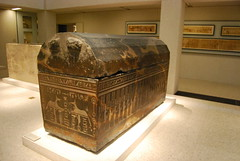 Sarcophagus of Ankh-Hor (konde) Tags: sarcophagus coffin ancientegypt neuesmuseum lateperiod ankhhor