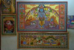 Artwork from Raghurajpur Artisan Village - Dashavatar (VinayakH) Tags: india art heritage artwork village traditional orissa artisan traditionalcrafts raghurajpur utkal tassar pattachitra odisha
