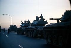Tank column (manhhai) Tags: 1969 vietnam saigon tray45