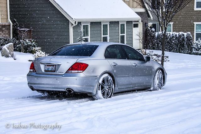 snow 2006 acura rl
