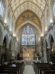 The nave looking towards Pugin's altar. (maggie jones.) Tags: london church 11 rc grade2listed
