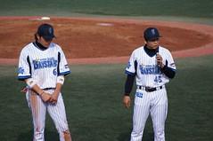 DSC02064 (shi.k) Tags: 120512 横浜ベイスターズ イースタンリーグ 福山博之 松本啓二朗 横須賀スタジアム