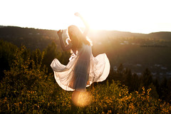Golden Days (Sophia Alexis) Tags: alexis light norway photoshop golden fly spring dress sophia cs5